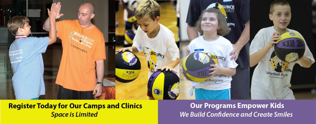 Basketball Camp Registration Bounce Out the Stigma
