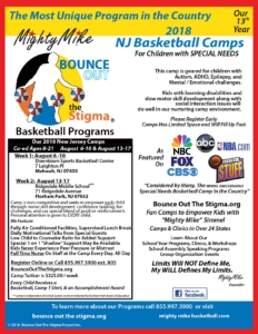 Special Needs Basketball Camp NJ