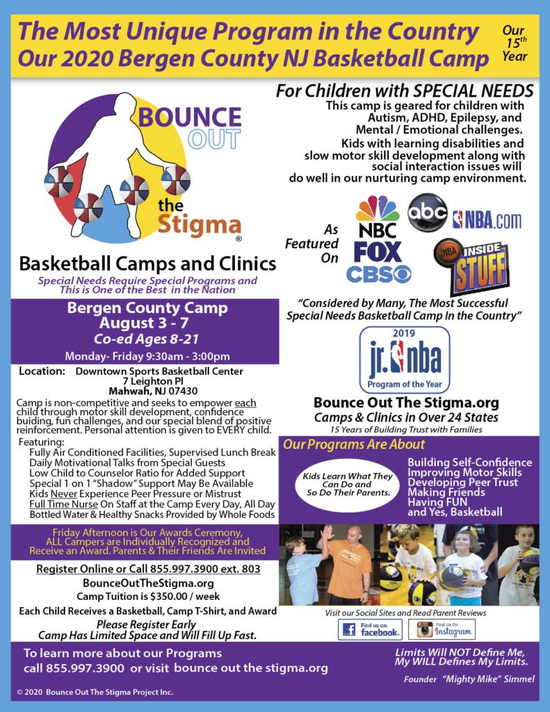 2020 Summer NJ Bergen County Mahwah Camp