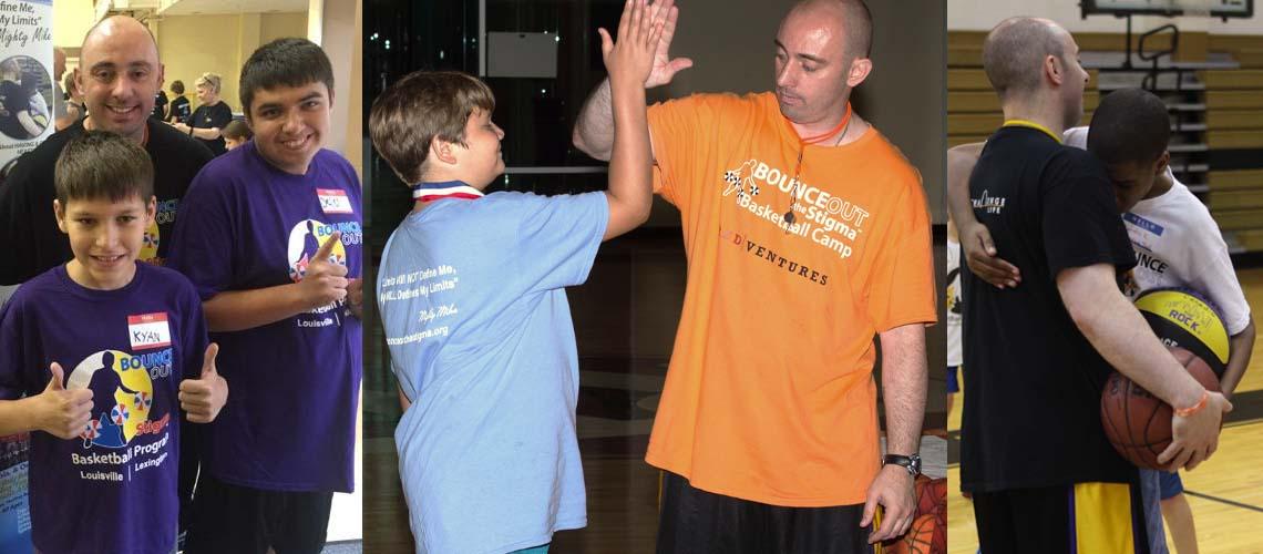Bounce Out the Stigma Basketball Program Mike Simmel